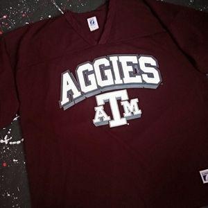 Texas A&M vintage 90s Logo 7 football jersey